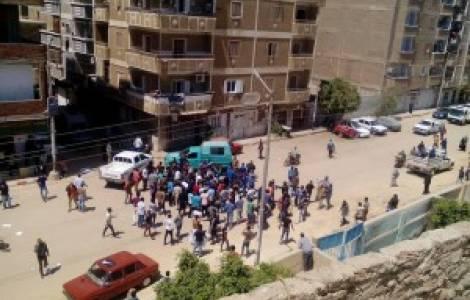 13 coptes arrêtés pour avoir demandé l'intervention de la police dans le cadre de l'enlèvement d'une jeune fille