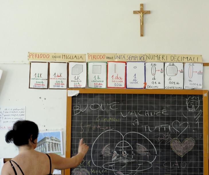 Italie – Conseil d'Etat – Retour de la bénédiction pascale dans les école