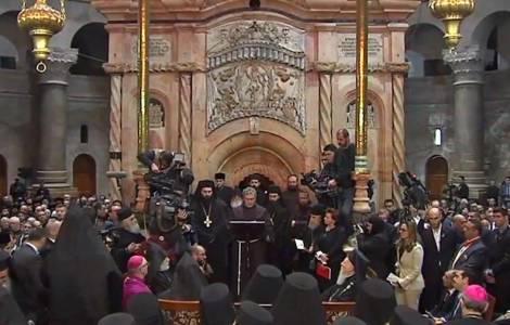 La Basilique du Saint-Sépulcre risque de s'effondrer