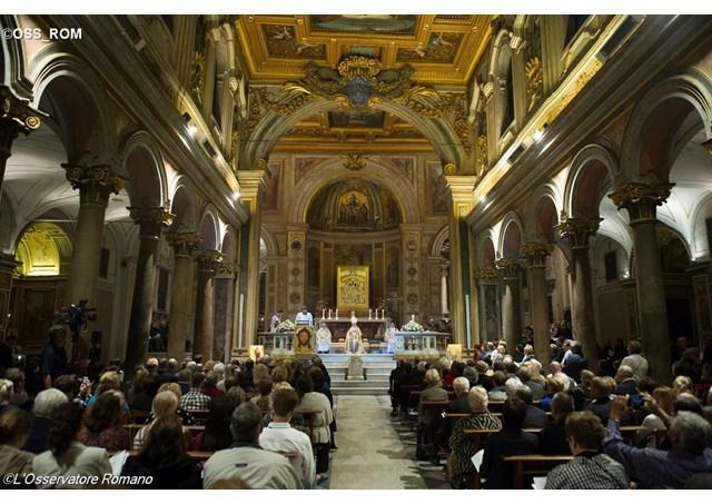 22 avril – Prière du pape pour les nouveaux martyrs