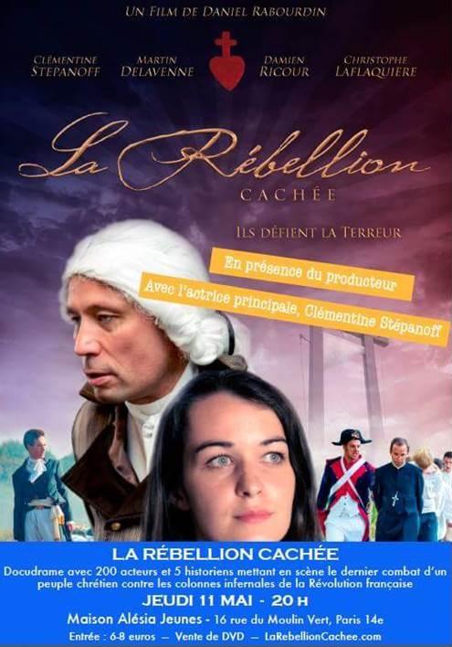"""Le film """"La Rébellion cachée"""" projeté à Paris"""