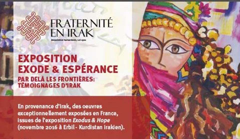 Exposition Exode & Espérance – Par delà les frontières: témoignages d'Irak