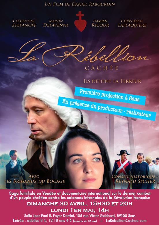 """Le film """"La Rébellion cachée"""" projeté à Sens"""