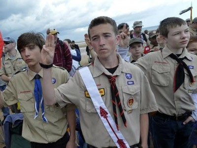 Après l'Angleterre, les scouts transgenre aux USA
