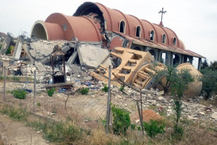 ONU – Le Saint-Siège dénonce l'anéantissement volontaire de trésors culturels de Terre Sainte, génocidaire dans sa motivation