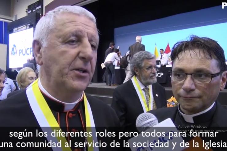 Lettre du pape aux universitaires