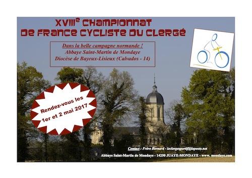 18ème championnat de France de cyclisme du clergé