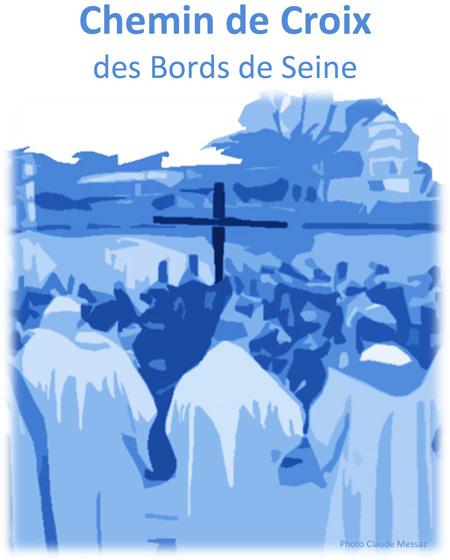 Chemin de Croix sur les bords de Seine