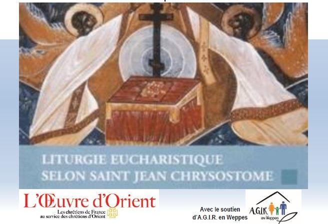 Le 7 mai, messe de rite byzantin à Erquinghem-sur-la-Lys