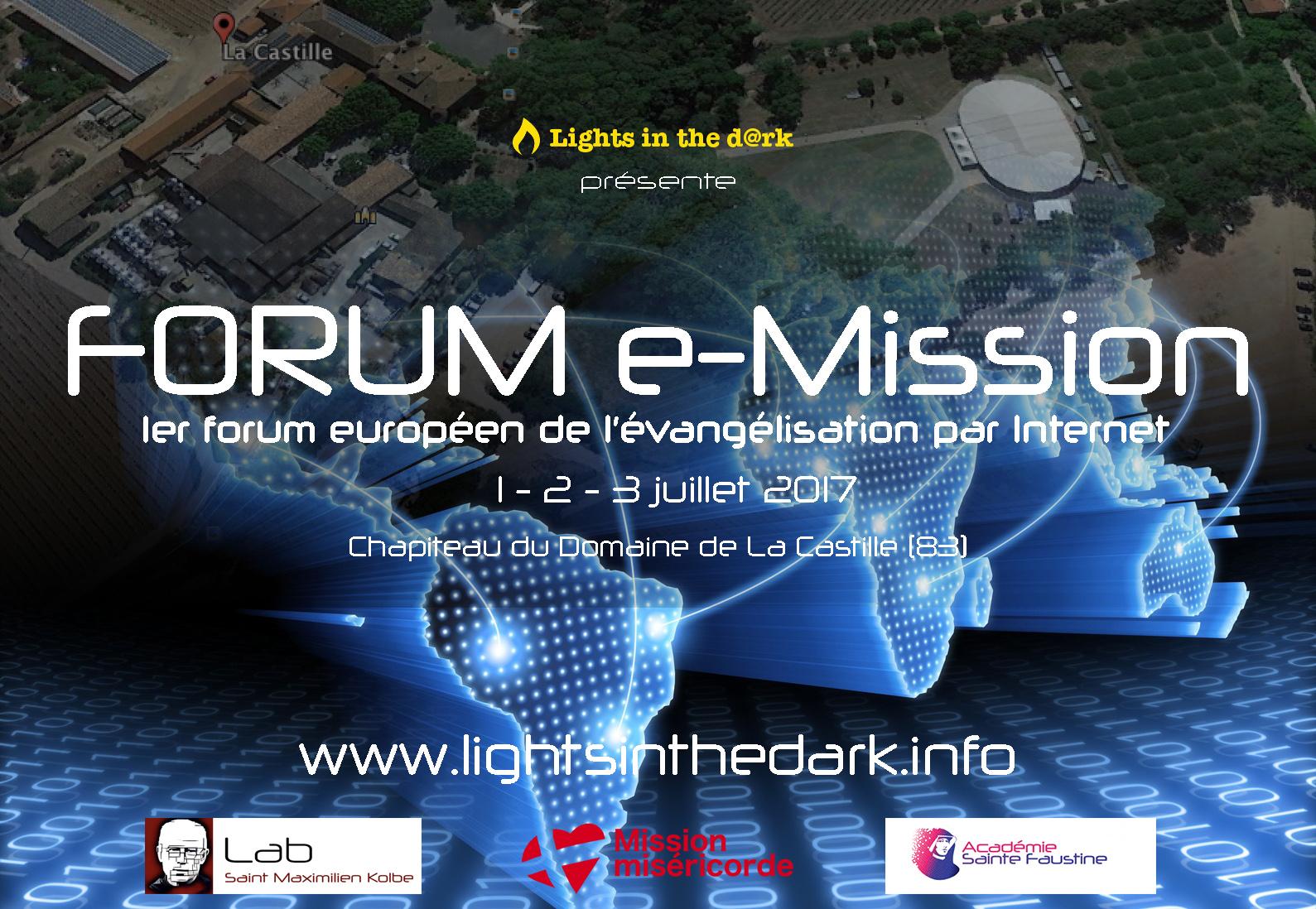 Forum e-mission: Le premier forum européen sur l'évangélisation par Internet