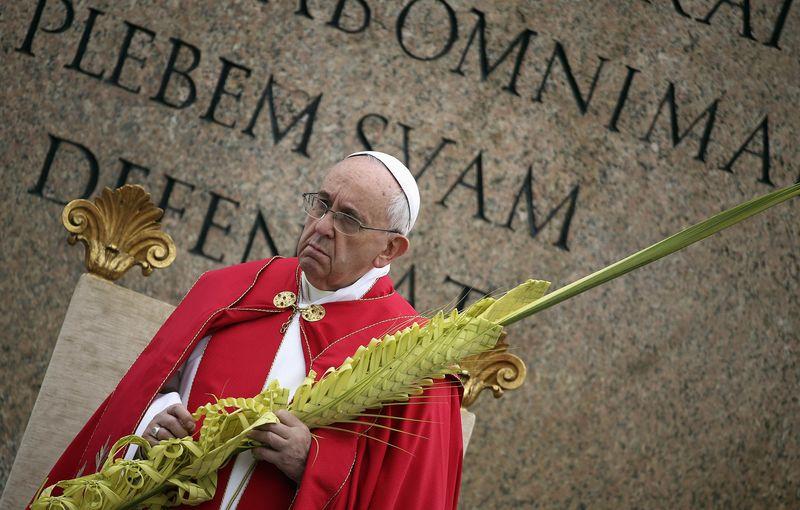 """Dimanche des Rameaux: """"se laisser étonner par le Christ"""" (Pape François)"""