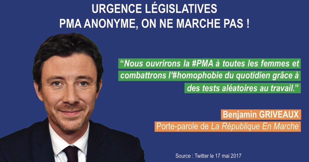En Marche pour la PMA pour toutes! Officiellement au programme des legislatives