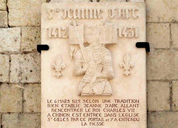 Sainte Jeanne d'Arc à l'Ile-Bouchard