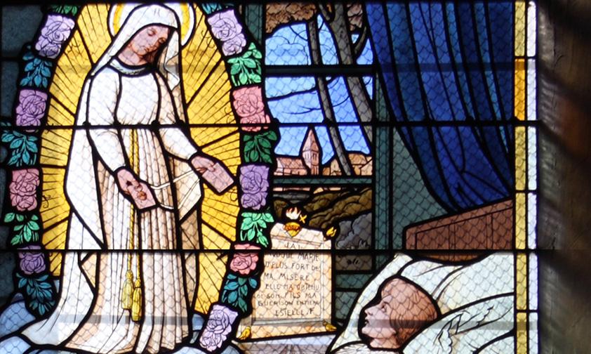 Notre histoire avec Marie: à Pellevoisin, la Vierge Marie apparaît à une jeune femme et lui demande de prier pour la France