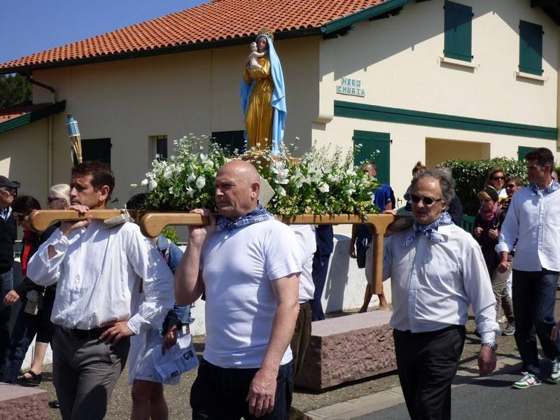 Bidart – Procession de Notre-Dame d'Uronea