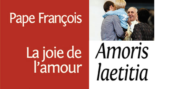 """Message vidéo du Pape sur """"Amoris Laetitia"""""""