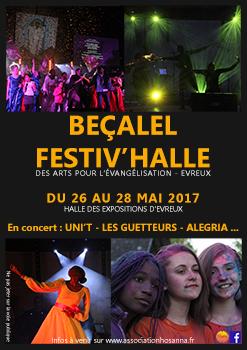Evreux – Festival Beçalel: 3 jours pour évangéliser par l'art