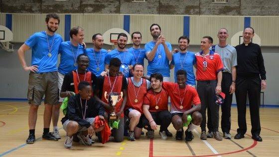 Tournoi de football des paroisses de Paris