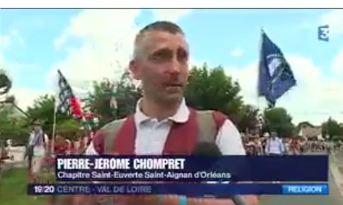 Quand France 3 s'émerveille du pélé de Chartres
