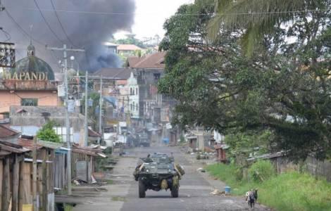 Philippines – A Marawi, la crise continue