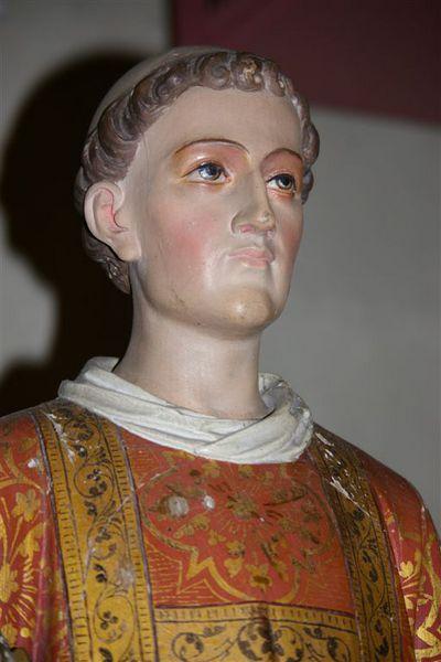 Vénération de la relique de saint Laurent à Anstaing (59)