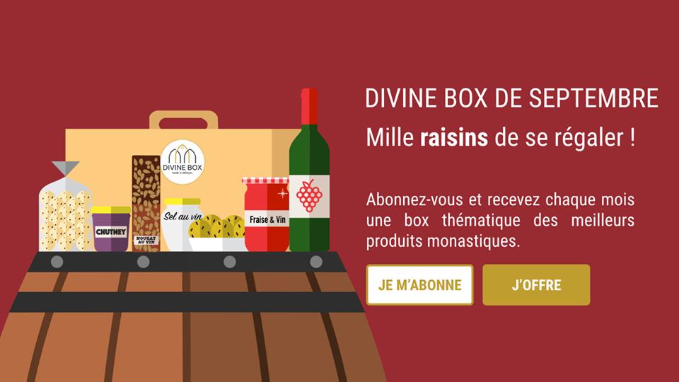 """La Divine Box de septembre: mille """"raisins"""" de se régaler!"""
