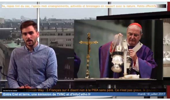 Le JT mensuel d'InfoCatho - Juillet 2017 - Les affaires romaines, la vie bénédictine à Saint-Wandrille