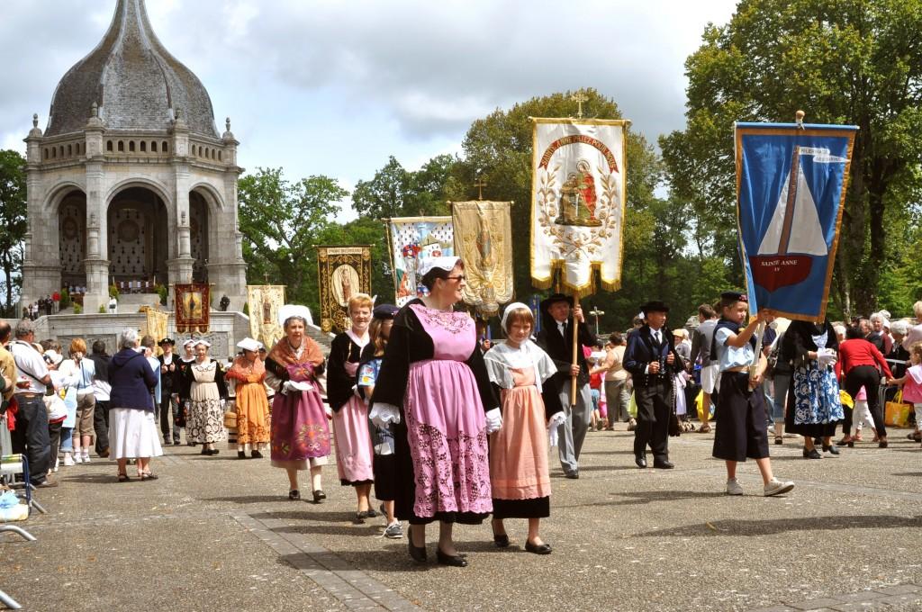 25 et 26 juillet: Mgr Dognin préside le grand Pardon de Sainte Anne d'Auray