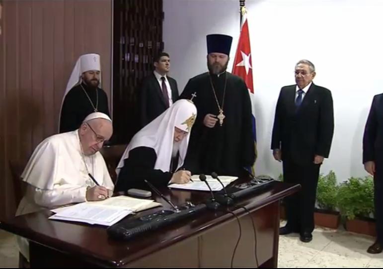 Le pape François à Moscou?