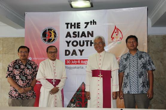 Message du pape François aux jeunes rassemblés pour les Journées asiatiques de la jeunesse