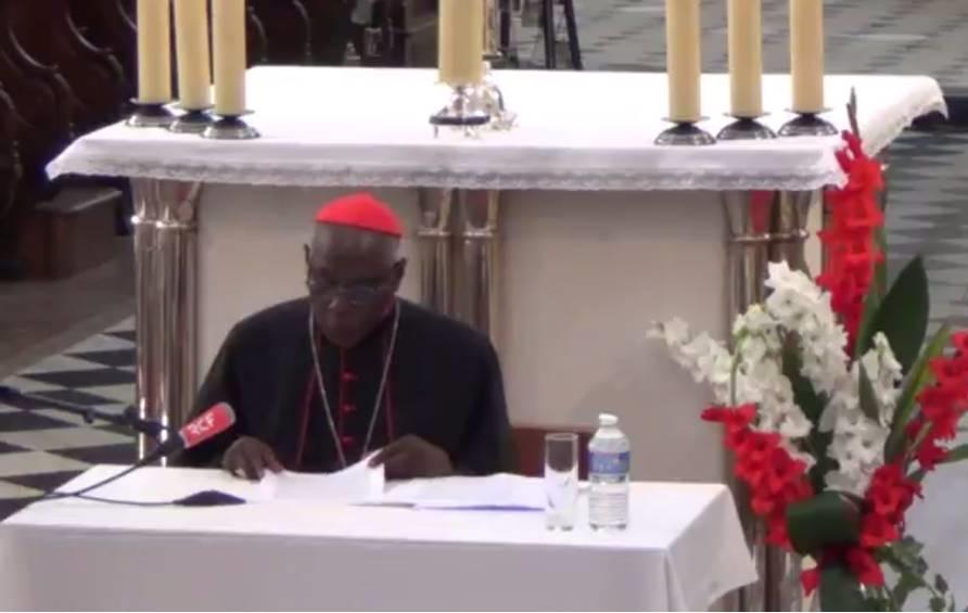 """""""Nous ne reformerons l'Eglise qu'en nous réformant nous-mêmes"""": conférence du cardinal Sarah à Luçon"""