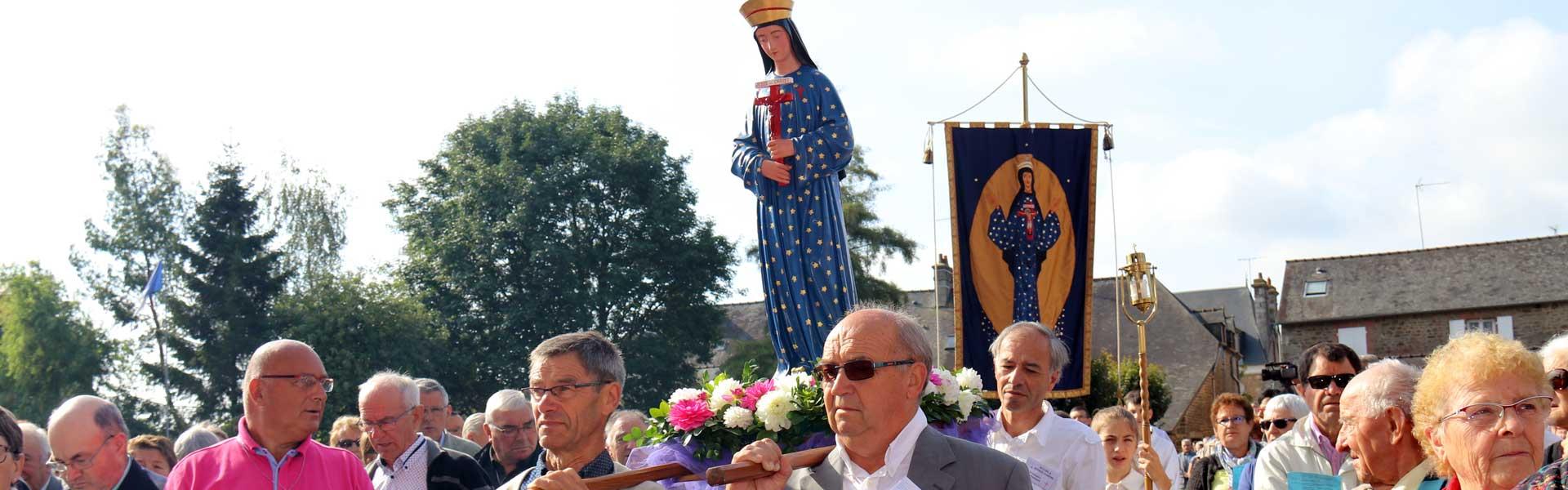 5 000 pèlerins étaient à Pontmain pour l'Assomption – N'ayons pas peur d'être des disciples missionnaires