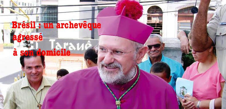 Les violences contre les prêtres et évêques se multiplient – Un archevêque brésilien agressé à son domicile