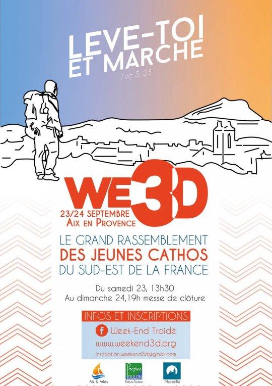 Week-end 3D – Aix-en-Provence 23-24 septembre