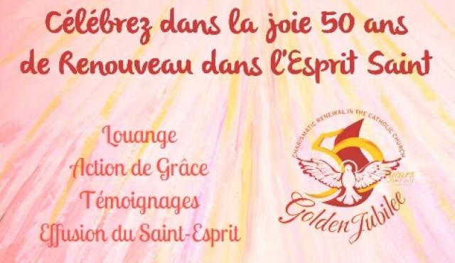 50 ans du Renouveau Charismatique – Bretagne