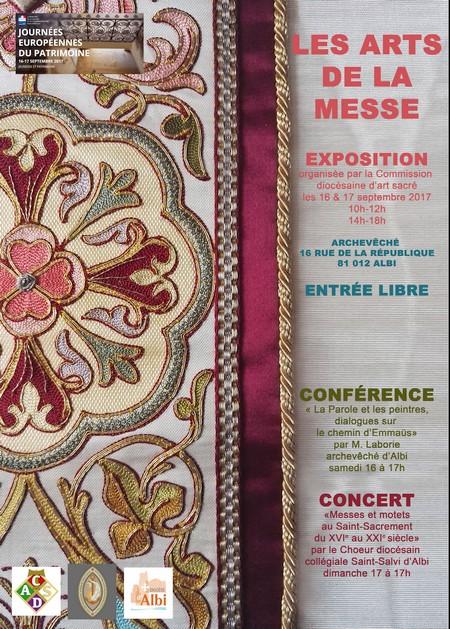 Exposition à Albi: Les arts de la messe
