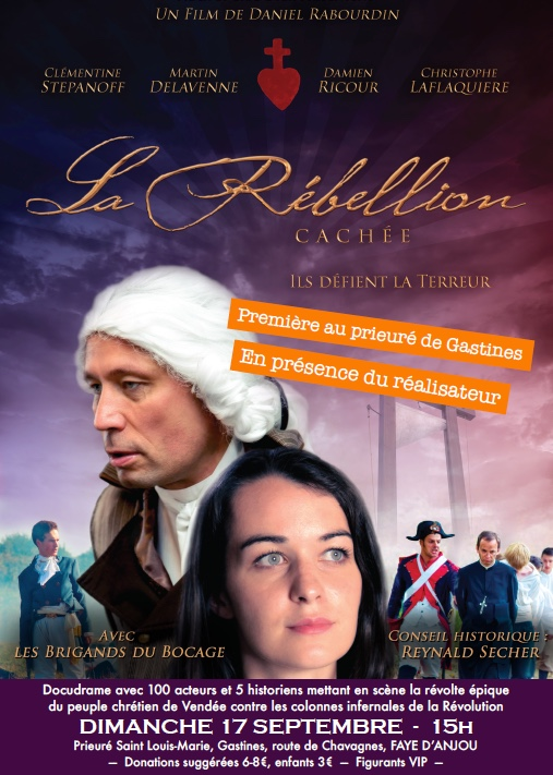 La Rébellion cachée – projection à Faye d'Anjou le 17 septembre
