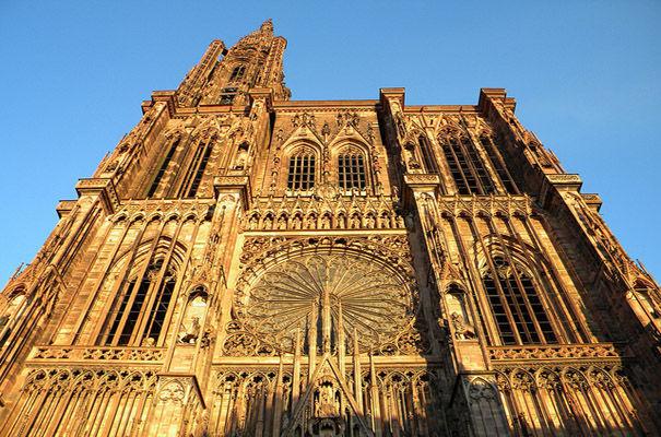 Bénédiction des cartables… et des écoliers à la cathédrale de Strasbourg
