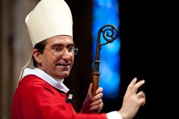 Accueil de Mgr Michel Pansard – nouvel évêque d'Evry – 1er octobre
