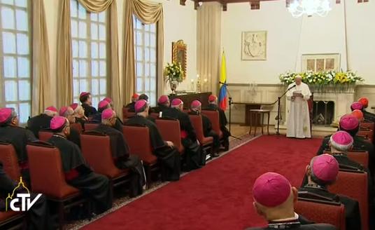 Voyage en Colombie – Pour le pape les pasteurs manquent de passion