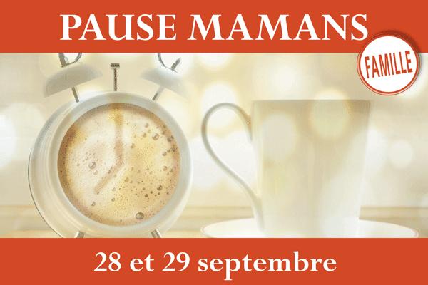 Pause Mamans – 28 et 29 septembre au sanctuaire de Montligeon