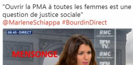 NON, Marlène Schiappa, nous ne voulons pas de votre PMA!