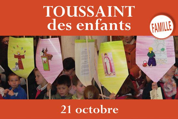 Toussaint des enfants à Montligeon le 21 octobre