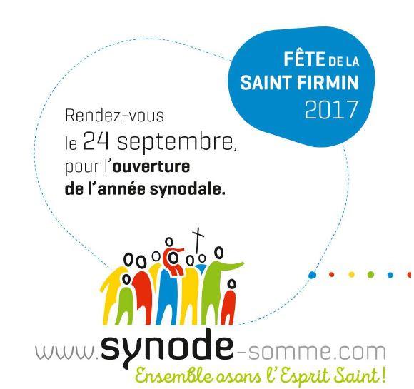 Fête de la Saint Firmin – ouverture de l'année synodale – diocèse d'Amiens