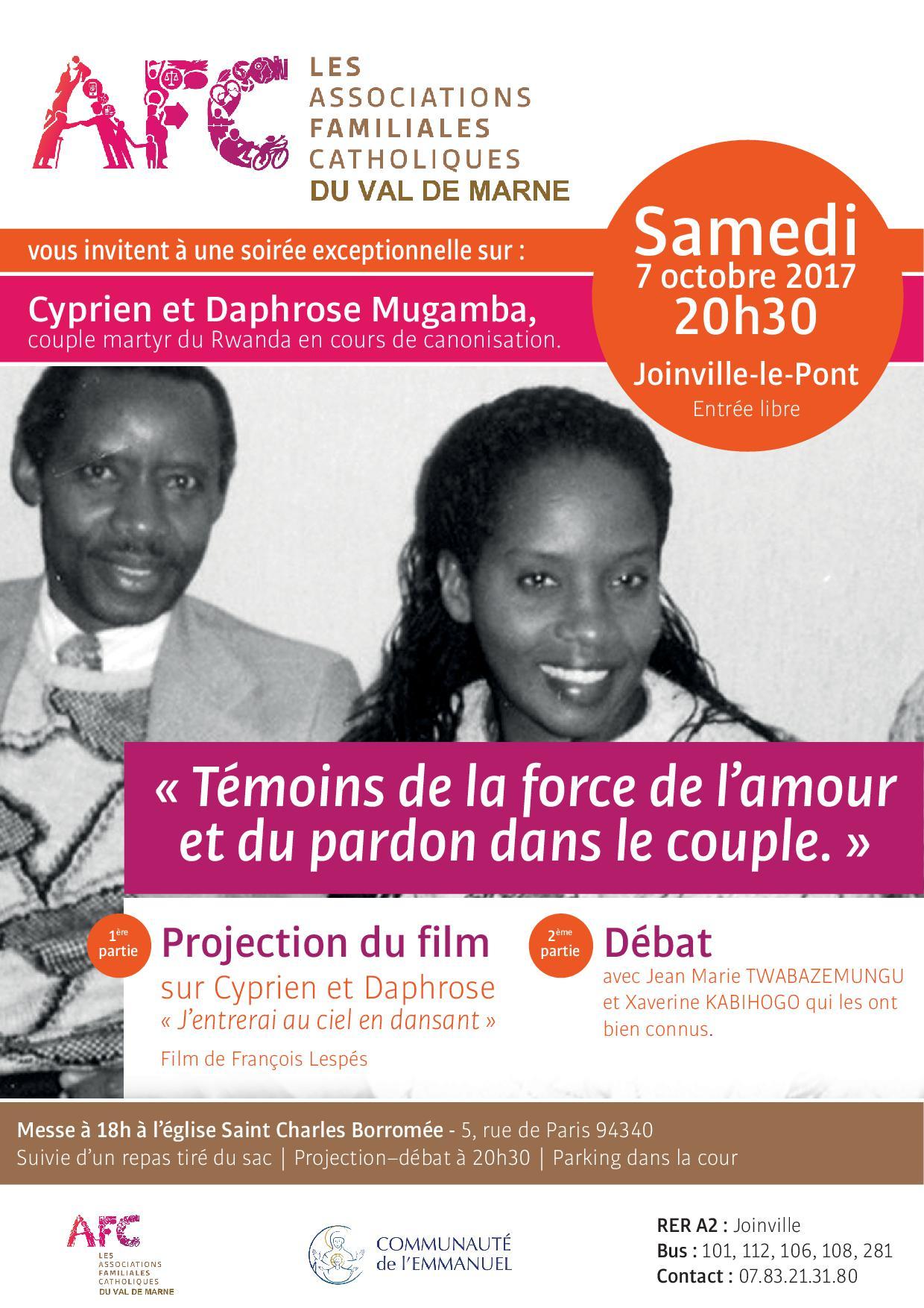 Soirée débat sur le pardon et la prière dans le couple – AFC Val de Marne