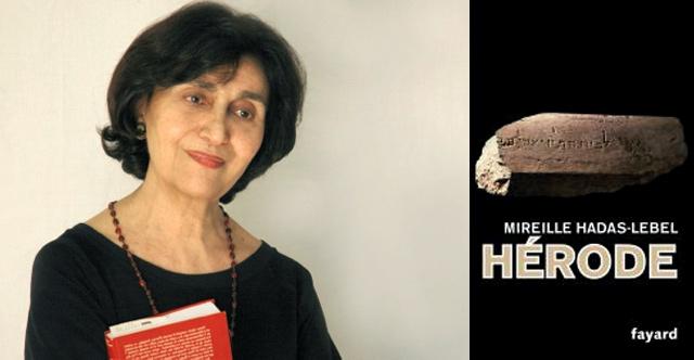 Table-ronde autour du livre Hérode de Mireille Hadas-Lebel, le 30 octobre