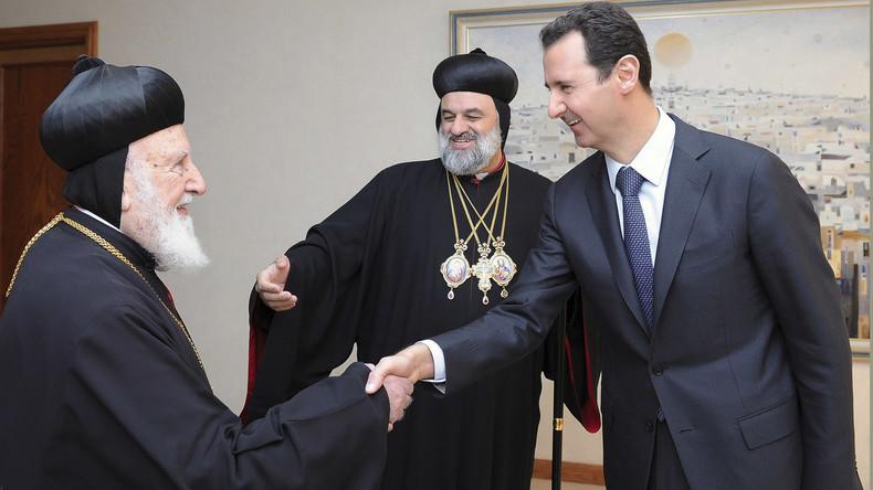 """Syrie – al-Assad  """"les chrétiens sont la base de l'existence de la patrie"""""""