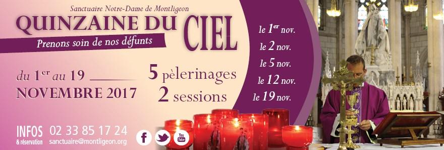 Quinzaine du Ciel à Montligeon (61), du 1er au 19 novembre