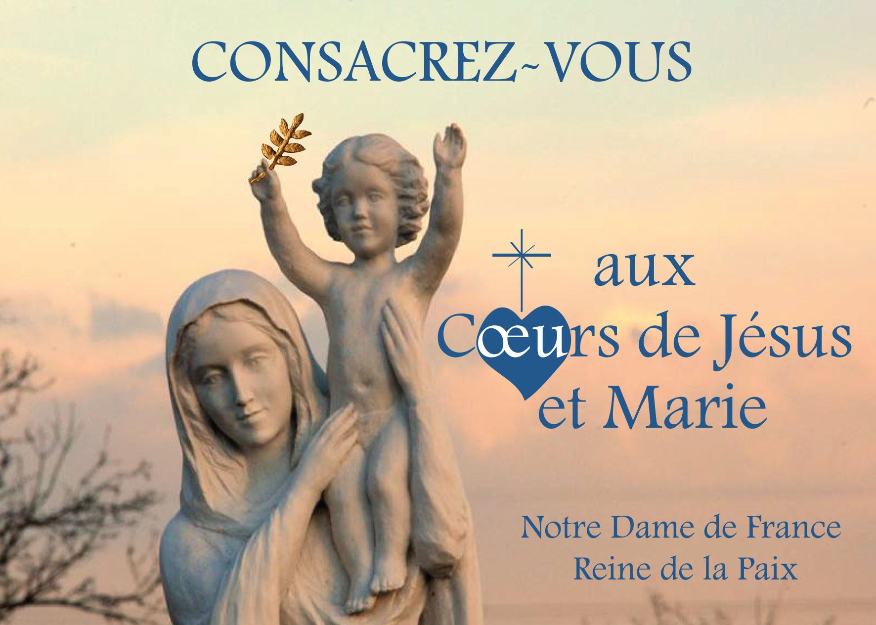 Remettons tout notre être à Marie