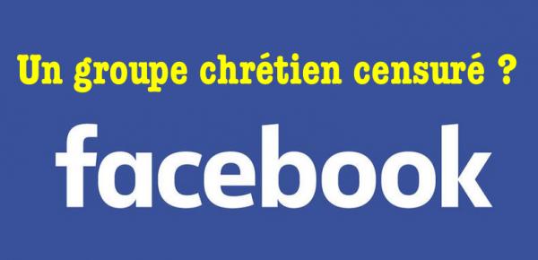 Oui, Facebook censure des pages chrétiennes !
